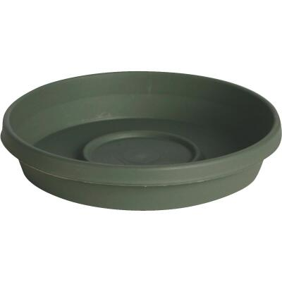 Bloem Terra Living Green 20 In. Plastic Flower Pot Saucer