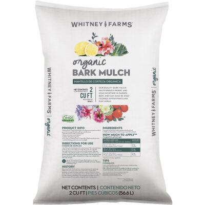 Whitney Farms 2 Cu. Ft. Brown Douglas Fir Bark Mulch