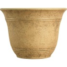 Listo Sierra 9.63 In. H. x 13 In. Dia. Arizona Sand Poly Flower Pot Image 1