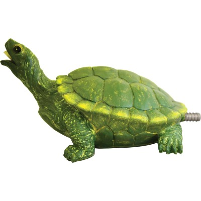 PondMaster 7.2 In. W. x 4.5 In. H. x 10.2 In. L. Resin Fountain Turtle Spitter