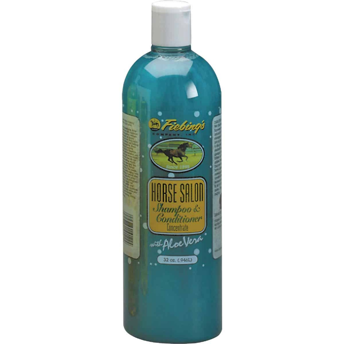 Fiebing's 32 Oz. Squeeze Bottle Horse Salon Shampoo & Conditioner Image 1