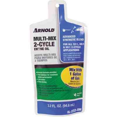 Arnold 3.2 Oz. Synthetic Blend Multi-Mix 2-Cycle Motor Oil