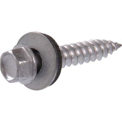 Hillman Tap-N-Seal #10 x 1 In. Hex Washer Head Screw (100 Ct.)