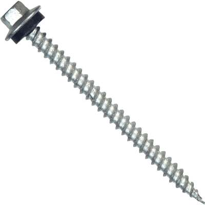 Hillman Tap-N-Seal #10 x 2 - 1/2 In. Hex Washer Head Screw (75 Ct.)