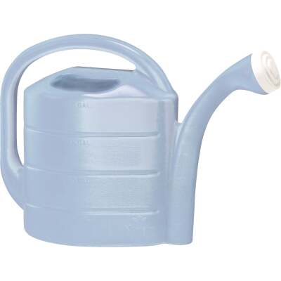 Novelty 2 Gal. Sky Blue Poly Watering Can