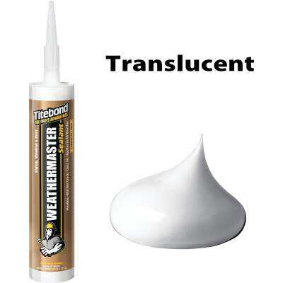 Titebond WeatherMaster 10 Oz. Polymer Sealant, 44011 Translucent