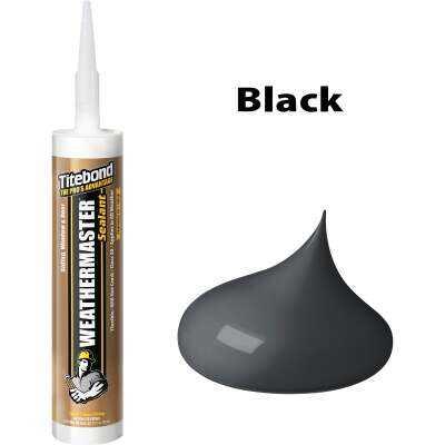 Titebond WeatherMaster 10 Oz. Polymer Sealant, 44031 Black