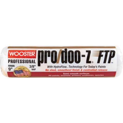Wooster Pro/Doo-Z FTP 9 In. x 3/8 In. Woven Fabric Roller Cover