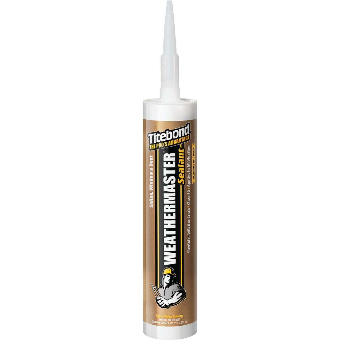Titebond WeatherMaster 10.1 Oz. Polymer Sealant, 44601 Clay Image 1