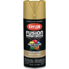 Krylon Fusion All-In-One Metallic Spray Paint & Primer, Gold Image 1