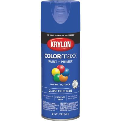 Krylon ColorMaxx 12 Oz. Gloss Spray Paint, True Blue