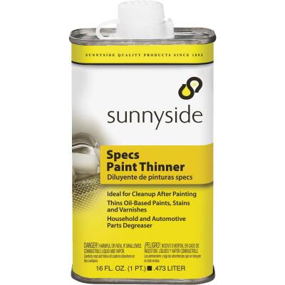 Sunnyside 1 Pint Specs Paint Thinner