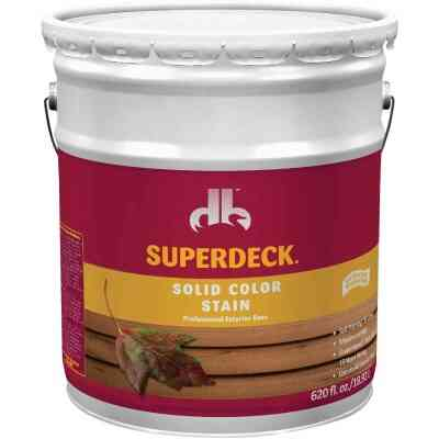 Duckback SUPERDECK Self Priming Solid Color Stain, Midtone Base, 5 Gal