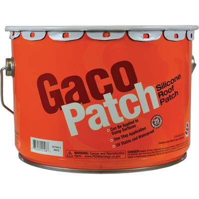 Gaco GacoPatch 2 Gal. White Silicone Roof Patch, 193-942