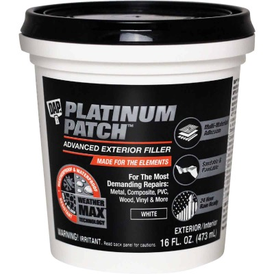 Dap Platinum Patch 16 Oz. Advanced Interior/Exterior Spackling Filler