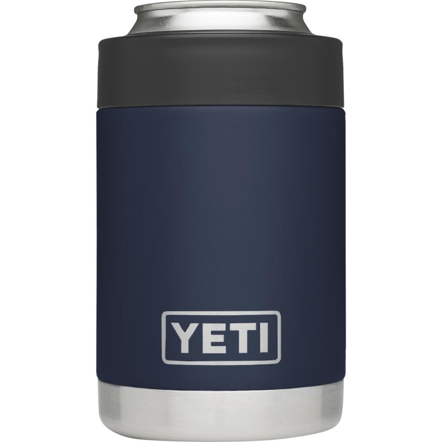 Yeti Rambler Colster 12 Oz. Navy Blue Stainless Steel Insulated Drink Holder Image 1