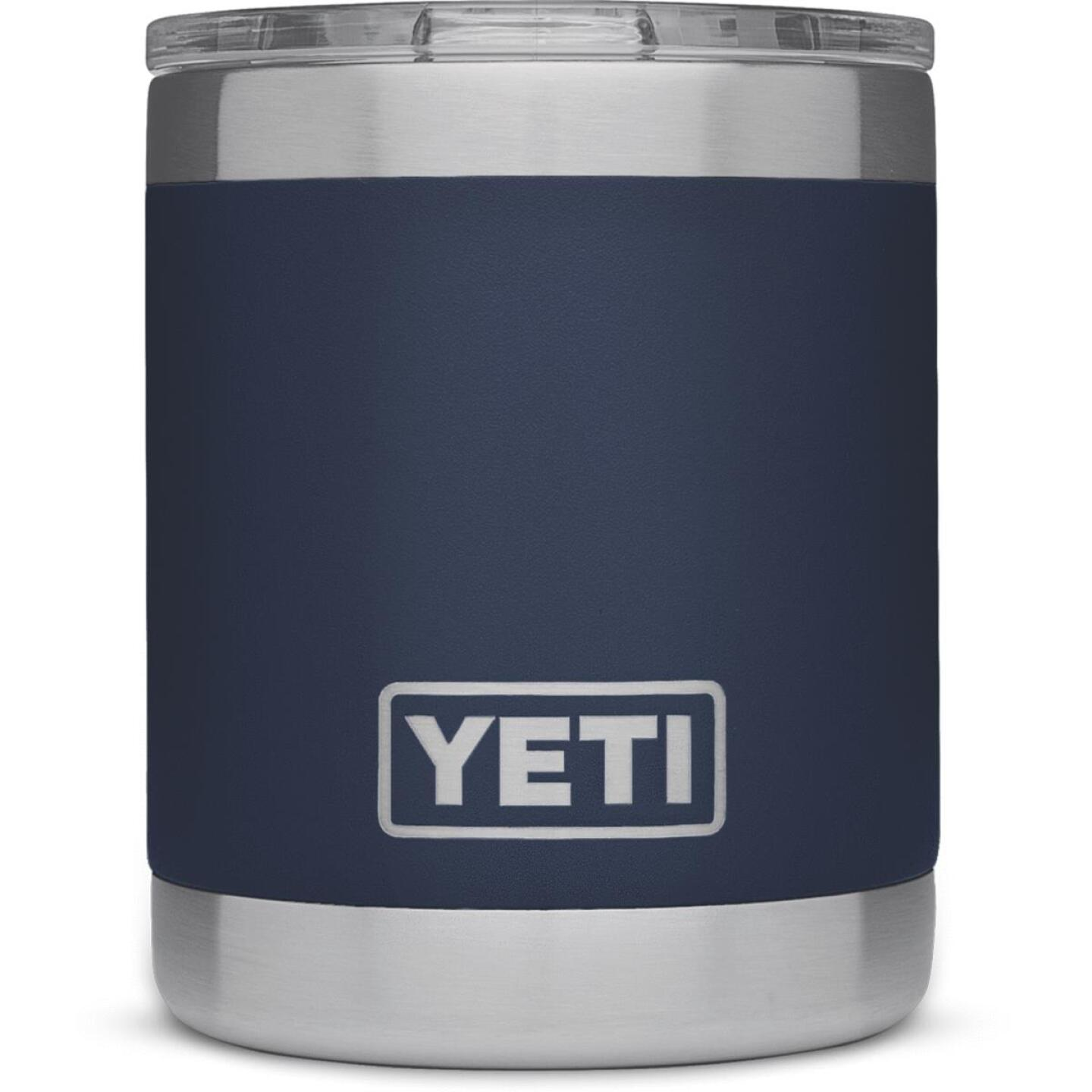 Yeti Rambler Lowball 10 Oz. Navy Blue Stainless Steel Insulated Tumbler Image 2