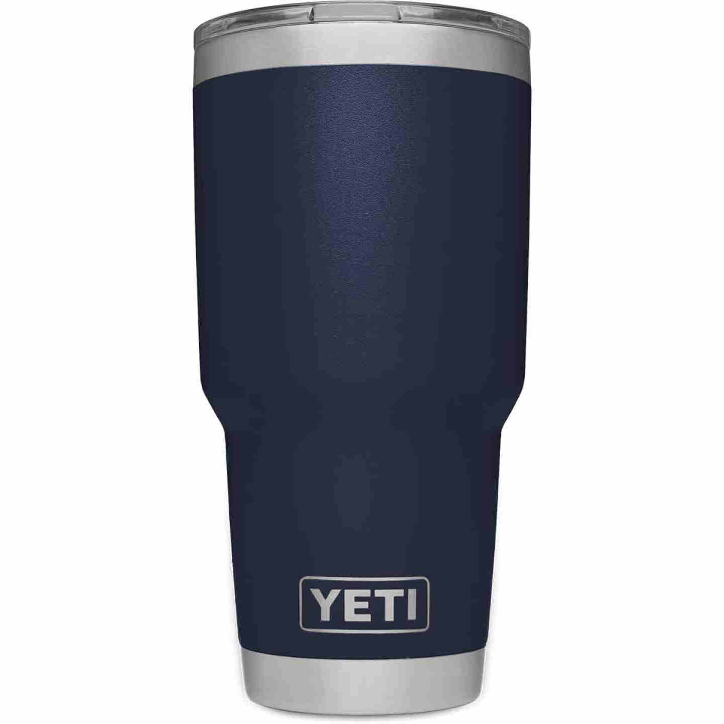Yeti Rambler 30 Oz. Navy Blue Stainless Steel Insulated Tumbler with MagSlider Lid Image 3