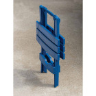 Adams Quik-Fold Patriotic Blue 15 In. x 17.5 In. Rectangle Resin Folding Side Table Image 2
