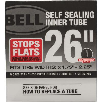 Bell Sports 26 In. Self-Sealing Bicycle Tube