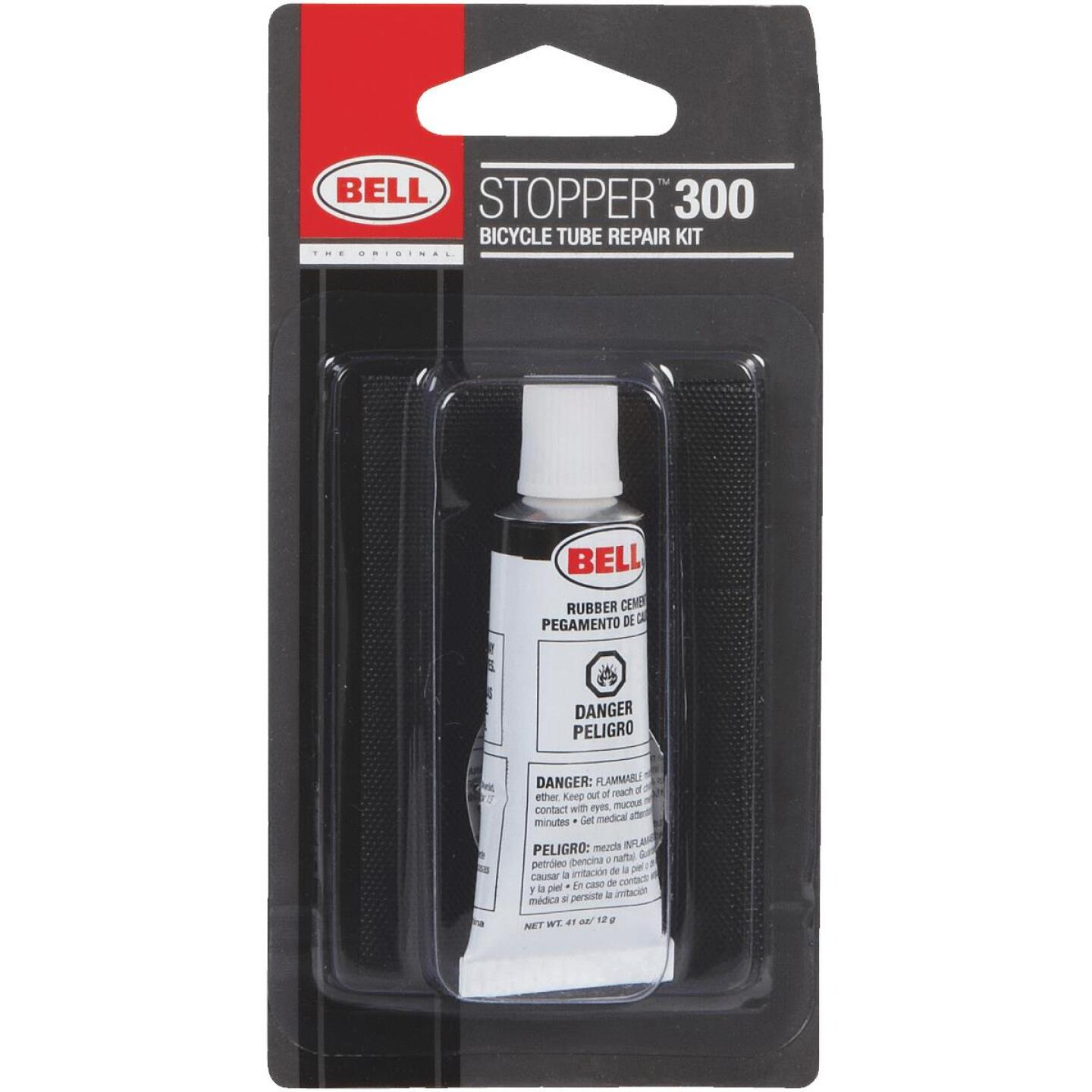 Bell Sports Stopper 300 4-Patch Bicycle Tube Repair Kit Image 1