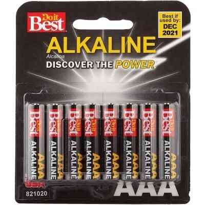 Do it Best AAA Alkaline Battery (8-Pack)