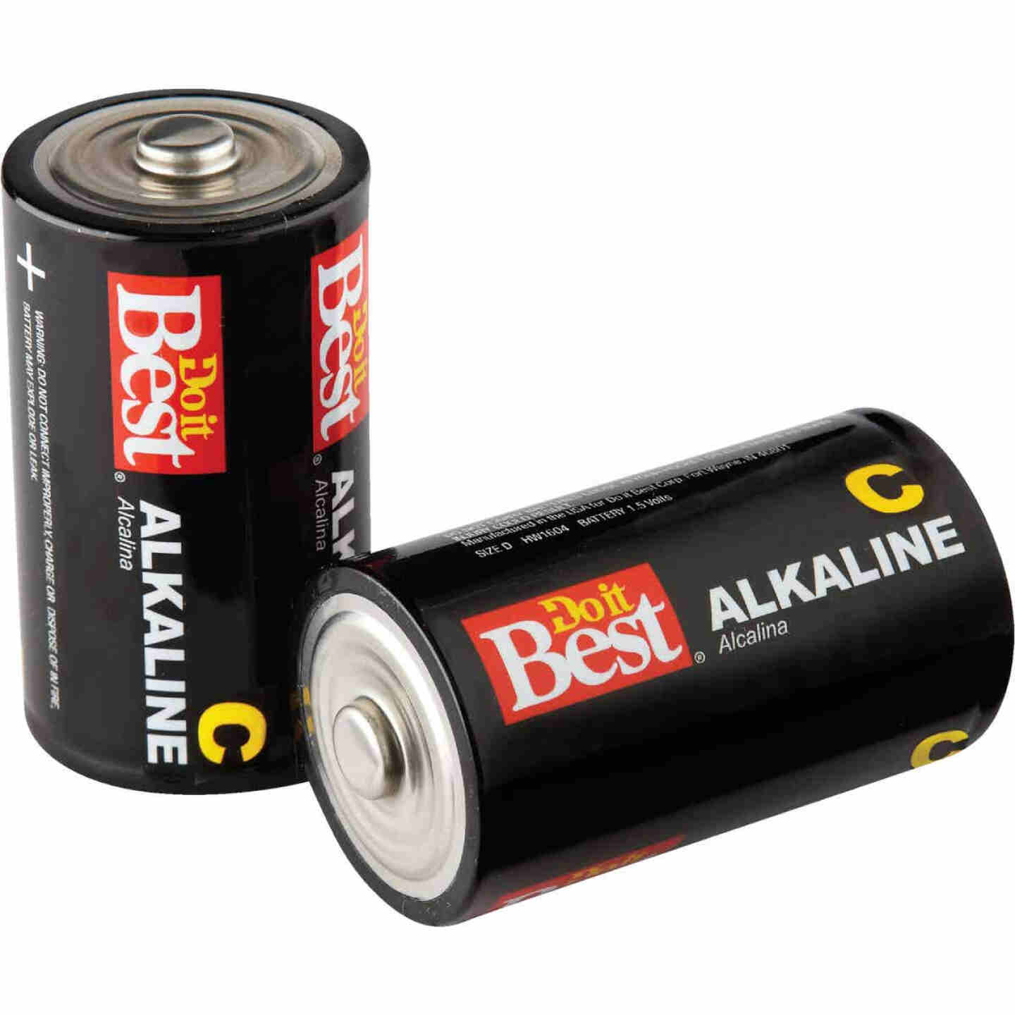 Do it Best C Alkaline Battery (2-Pack) Image 1
