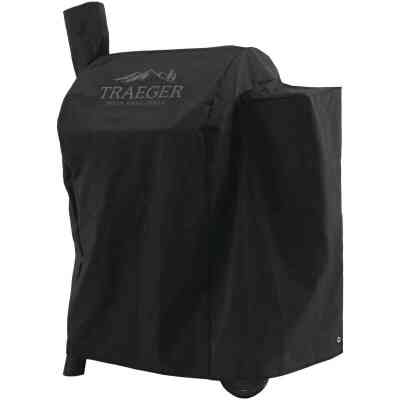 Traeger Pro 22/Pro 575 35 In. Black Polyester Grill Cover