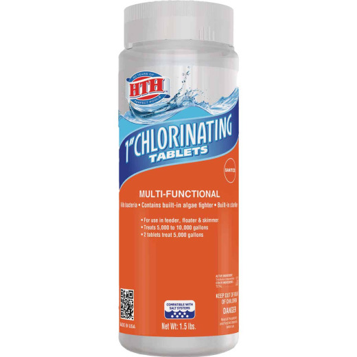 HTH 1.5 Lb. Chlorinating Tablets
