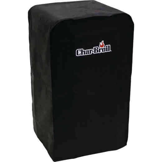 Char-Broil 30 In. Polyester Black Universal Cabinet Smoker Cover