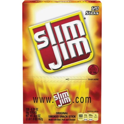 Slim Jim Original Flavor 0.28 Oz. Beef Stick